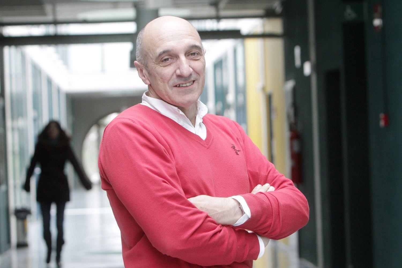 El catedrático Humberto Bustince.