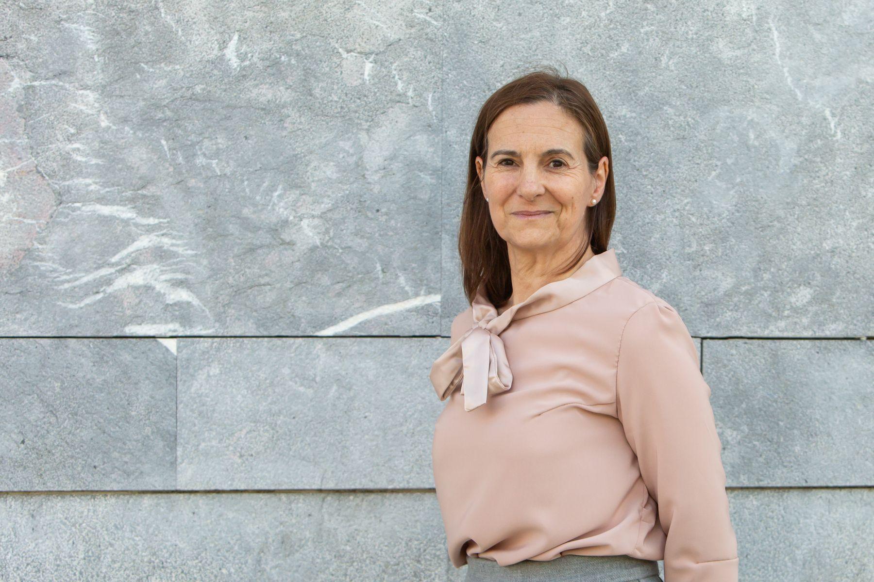 La profesora Marisol Gómez.