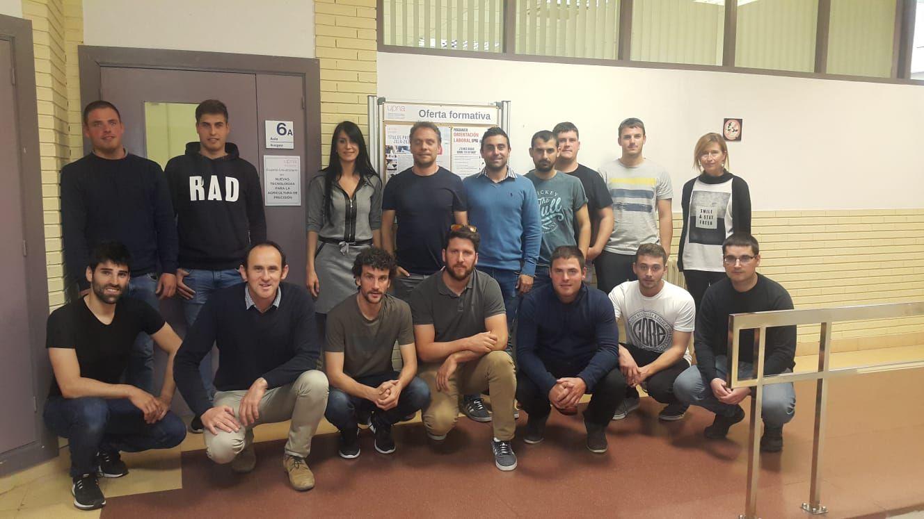 Foto de grupo del inicio de curso.