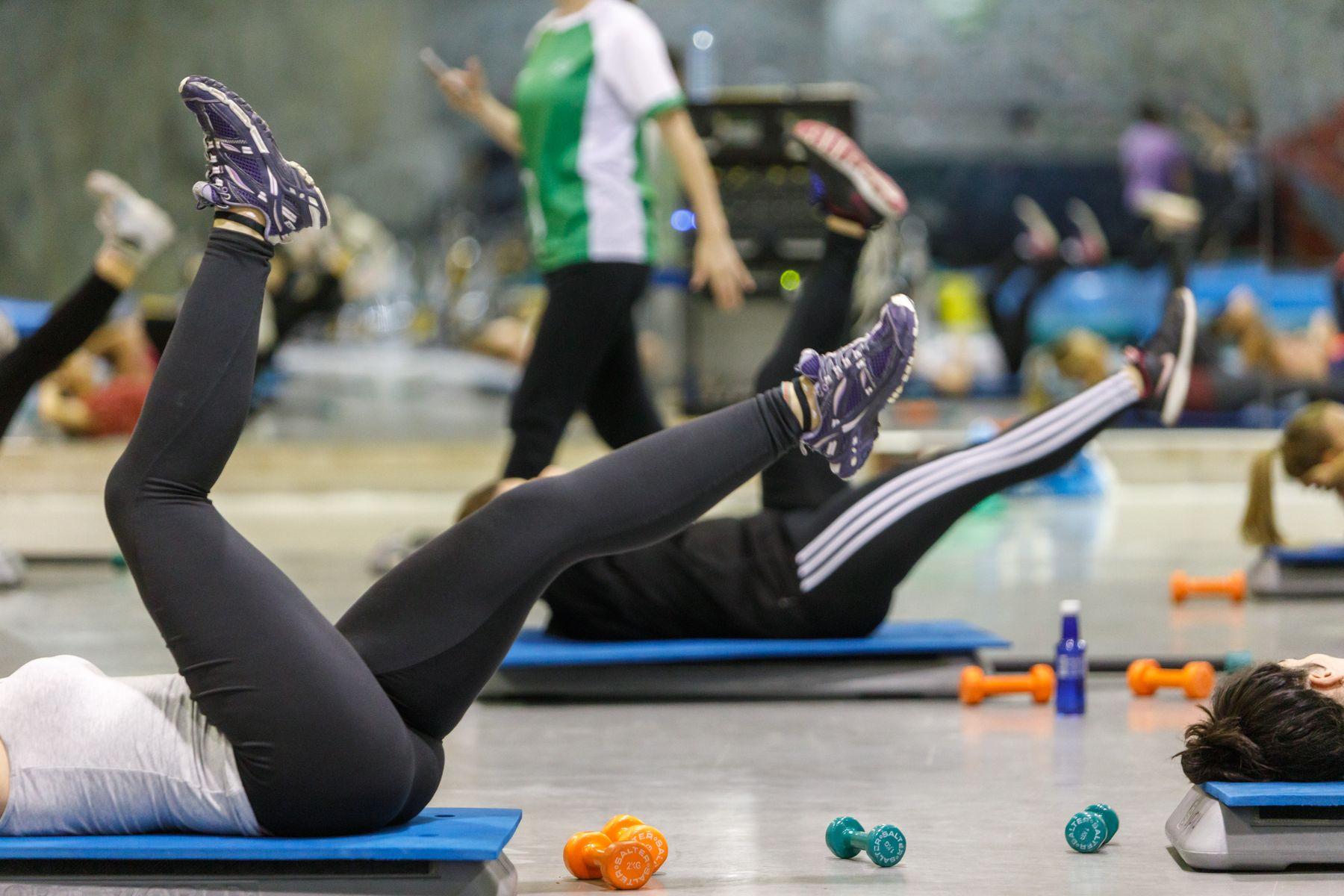 Actividad deportiva en la UPNA.