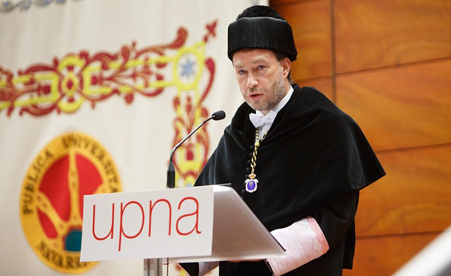 El rector, Ramón Gonzalo