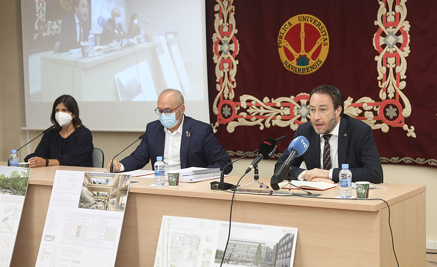 participantes en rueda de prensa