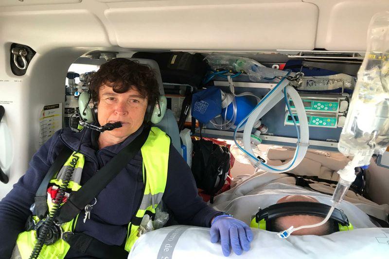 """""""Cuidados en situaciones especiales: helitransporte medicalizado""""."""