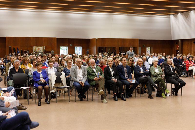 La ceremonia se desarrolló en el Aula Fernando Remacha de El Sario.