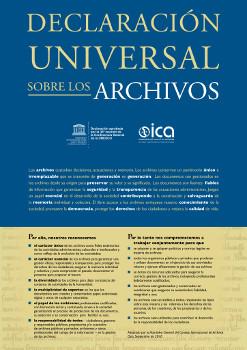 Declaración Universal de Archivos