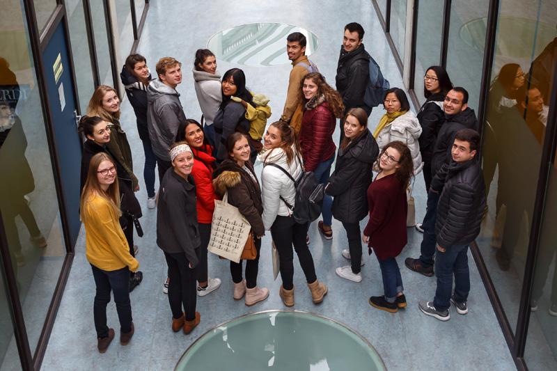 Estudiantes de intercambio en la UPNA