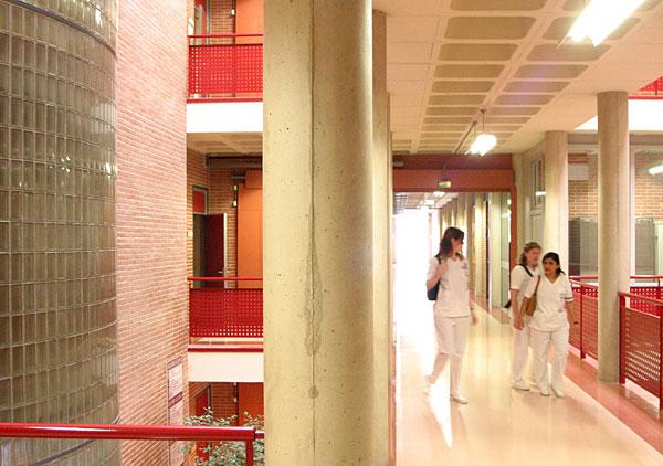 Alumnas de la Facultad de Ciencias de la Salud.