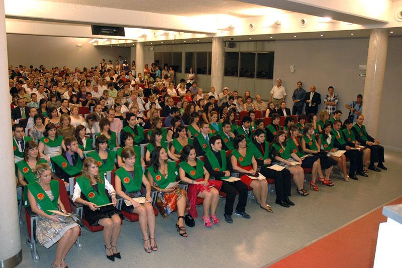 Graduación de Fisioterapia (2010).