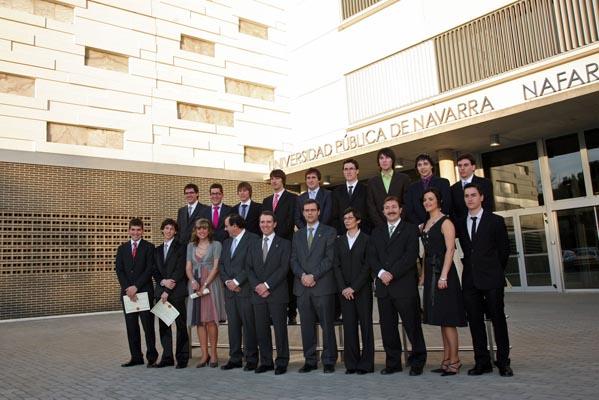 Graduación de Ingeniería Técnica Industrial Mecánica-Diseño Industrial (2009).