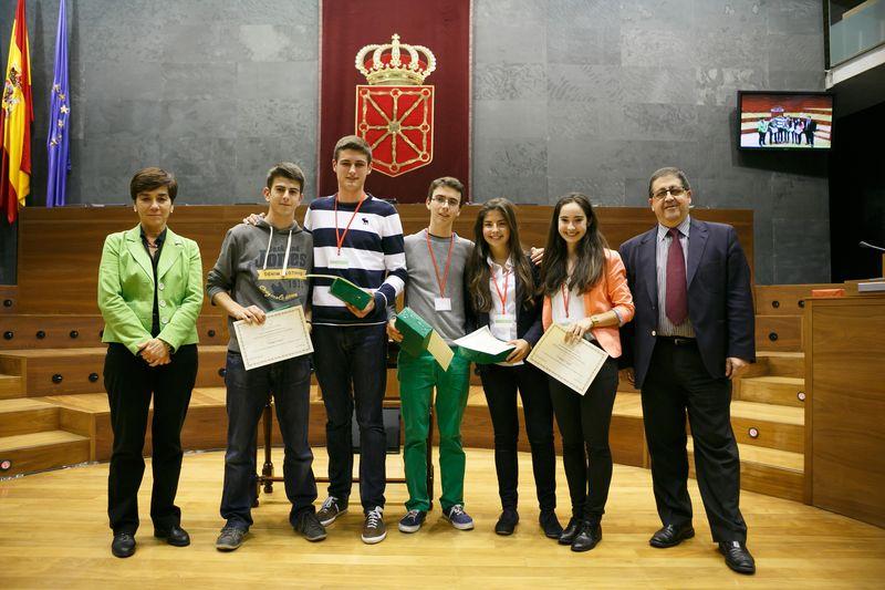 El equipo de San Cernin, ganador del Torneo