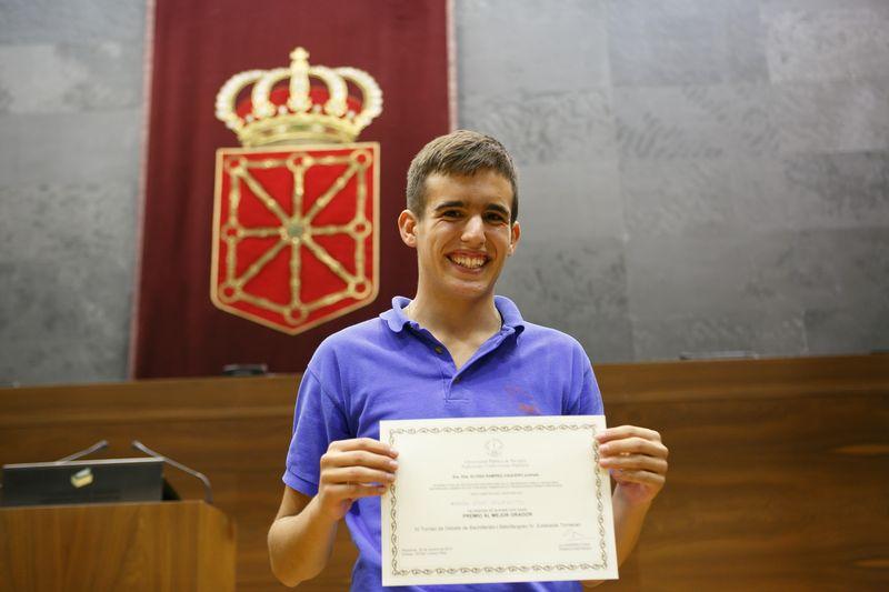 Premio al mejor orador del Torneo, Ramón Díaz Perfecto