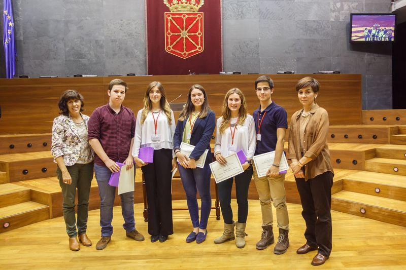 Equipo de Nuestra Señora del Puy, ganador del Torneo.
