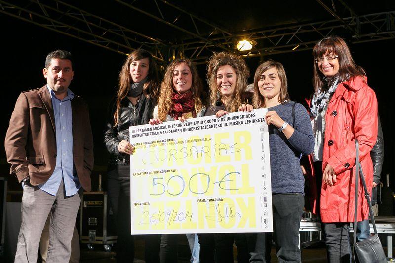 Grupo Corsarias, tercer clasificado