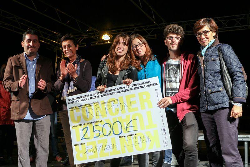Grupo Repion, ganador del III Certamen Musical Universitario del G 9
