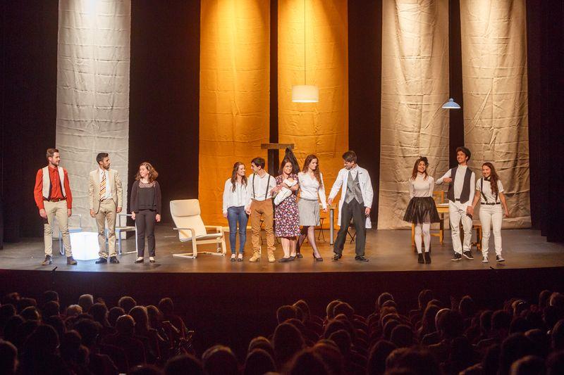 Grupo de Teatro de la Universidad Pública de Navarra